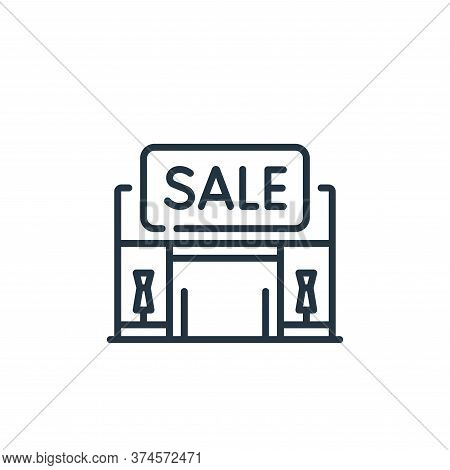 sale icon isolated on white background from mall collection. sale icon trendy and modern sale symbol
