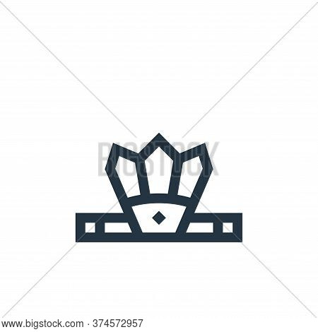 headband icon isolated on white background from history collection. headband icon trendy and modern