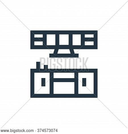 cooking icon isolated on white background from real estate collection. cooking icon trendy and moder
