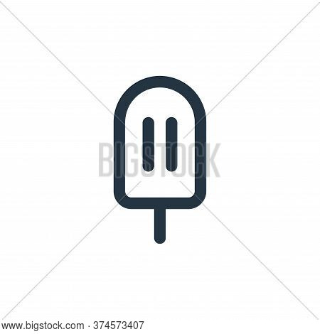 ice cream icon isolated on white background from food collection. ice cream icon trendy and modern i