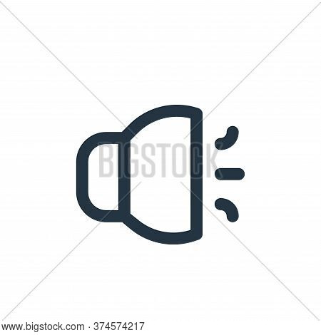 sound icon isolated on white background from user interface collection. sound icon trendy and modern
