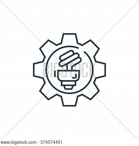 power icon isolated on white background from environment and eco collection. power icon trendy and m
