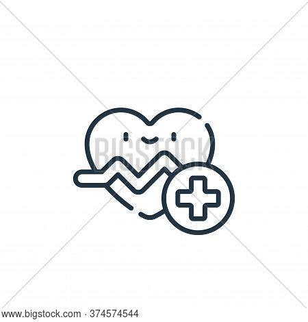 cardiology icon isolated on white background from medical services collection. cardiology icon trend