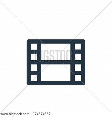 video icon isolated on white background from user interface collection. video icon trendy and modern