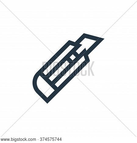 cutter icon isolated on white background from electrician tools and elements collection. cutter icon
