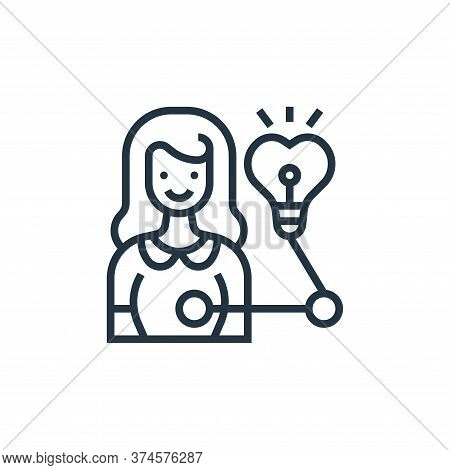 insight icon isolated on white background from digital transformation collection. insight icon trend