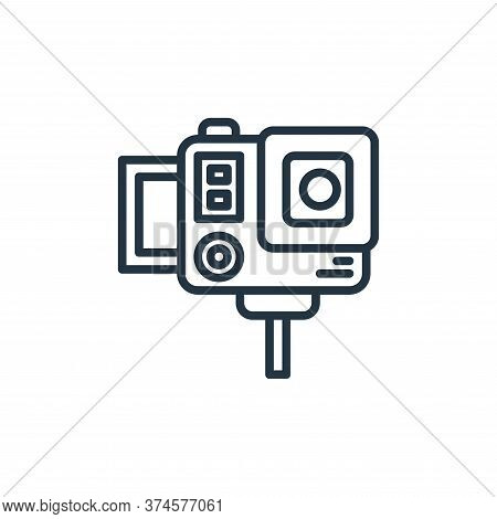 vlog icon isolated on white background from stay at home collection. vlog icon trendy and modern vlo