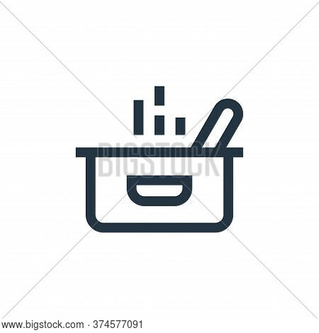 pot icon isolated on white background from nutrition collection. pot icon trendy and modern pot symb