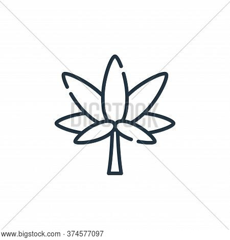 Marijuana icon isolated on white background from hippies collection. Marijuana icon trendy and moder
