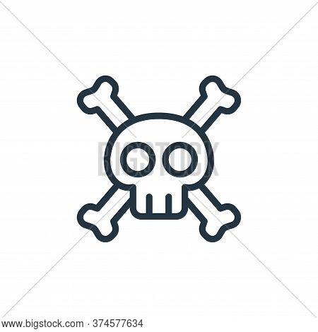 poison icon isolated on white background from health and protection collection. poison icon trendy a