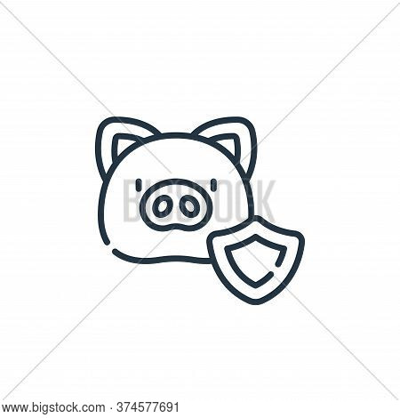 animal rights icon isolated on white background from animal welfare collection. animal rights icon t