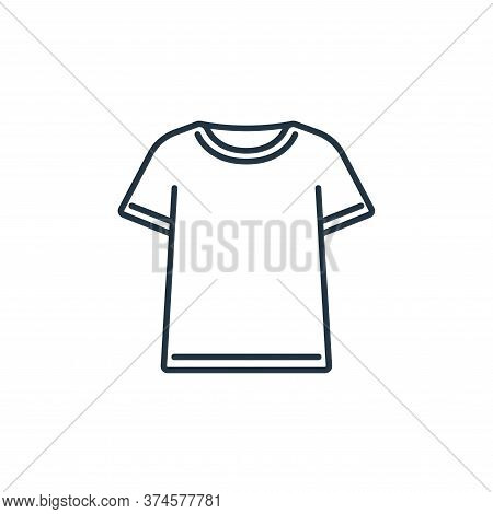 tshirt icon isolated on white background from clothes and outfit collection. tshirt icon trendy and