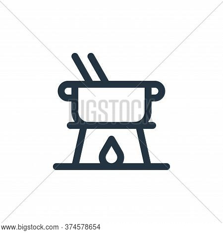 fondue icon isolated on white background from gastronomy collection. fondue icon trendy and modern f