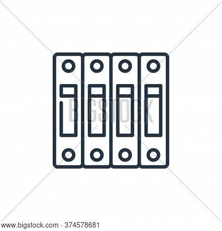 archive icon isolated on white background from management collection. archive icon trendy and modern