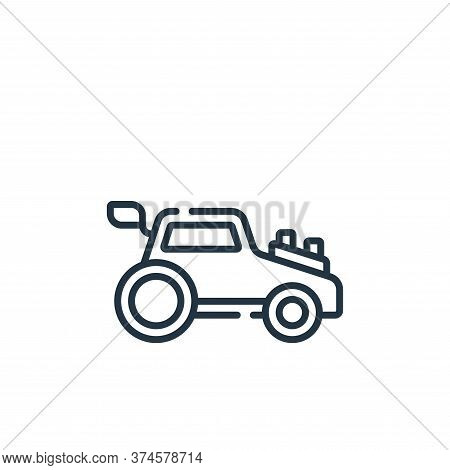 car toy icon isolated on white background from children toys collection. car toy icon trendy and mod