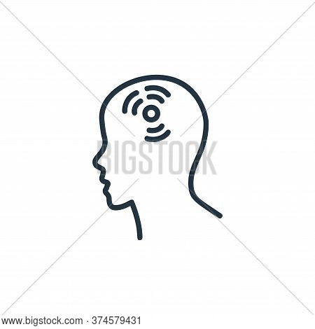 headache icon isolated on white background from covid collection. headache icon trendy and modern he