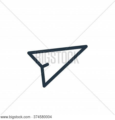 send icon isolated on white background from technology collection. send icon trendy and modern send