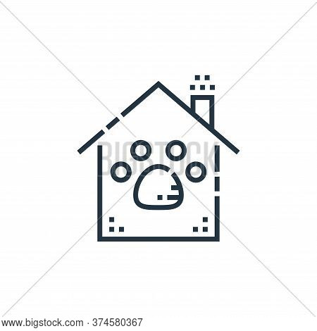 pet care icon isolated on white background from smarthome collection. pet care icon trendy and moder