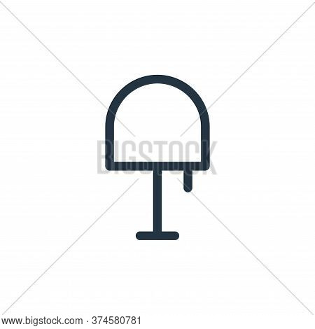 table lamp icon isolated on white background from electronics collection. table lamp icon trendy and