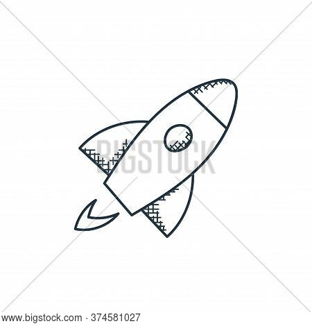 startup icon isolated on white background from technology collection. startup icon trendy and modern