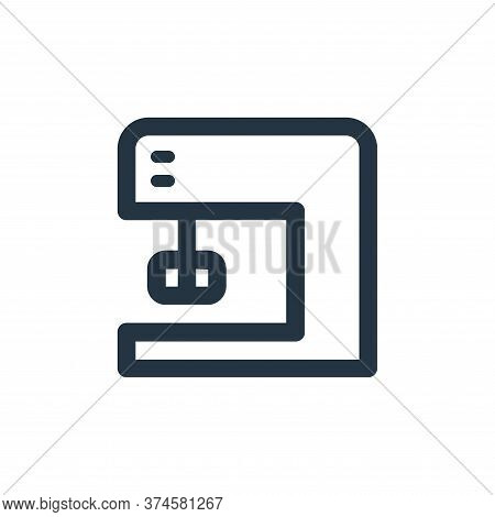mixer icon isolated on white background from electronic and device collection. mixer icon trendy and