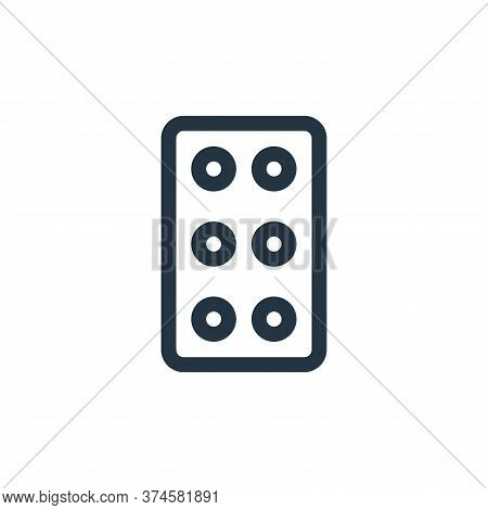 tablets icon isolated on white background from medicine collection. tablets icon trendy and modern t