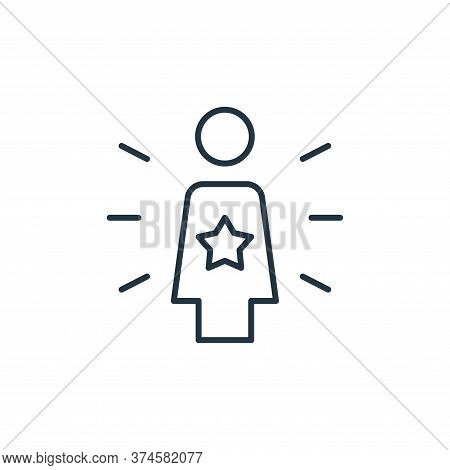 team leader icon isolated on white background from leadership collection. team leader icon trendy an
