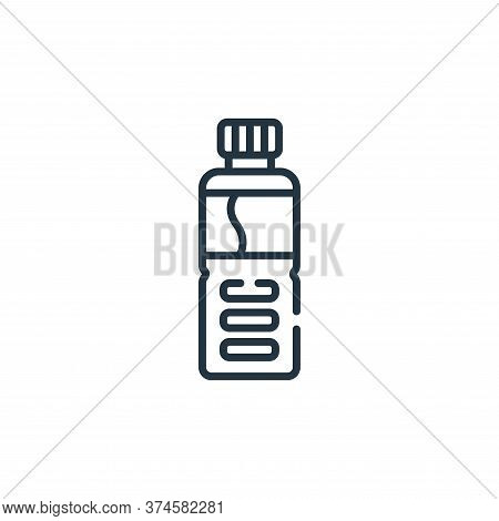 water bottle icon isolated on white background from baseball collection. water bottle icon trendy an