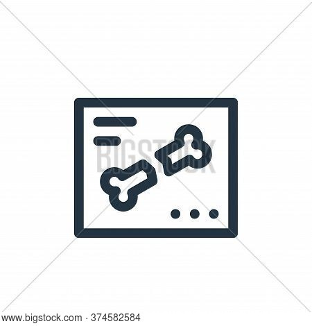 x ray icon isolated on white background from health collection. x ray icon trendy and modern x ray s