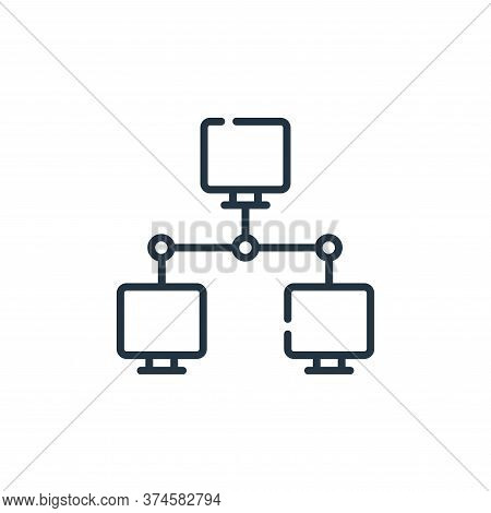 hacker icon isolated on white background from hacker collection. hacker icon trendy and modern hacke