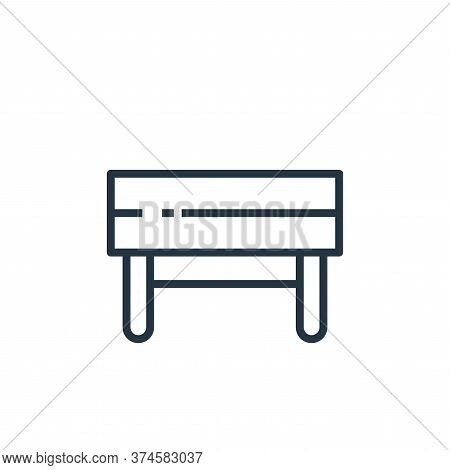 bench icon isolated on white background from recycling collection. bench icon trendy and modern benc