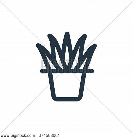 plant icon isolated on white background from landscaping equipment collection. plant icon trendy and