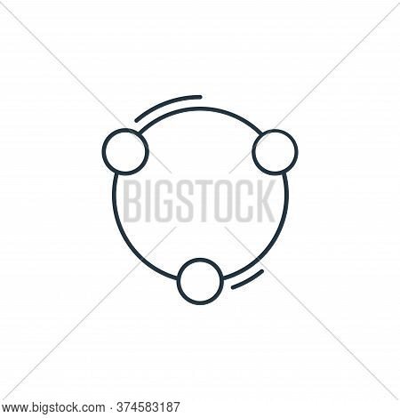 share icon isolated on white background from network and database collection. share icon trendy and