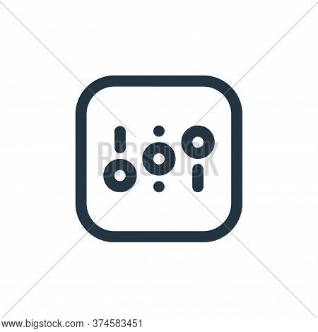 adjust icon isolated on white background from sound collection. adjust icon trendy and modern adjust