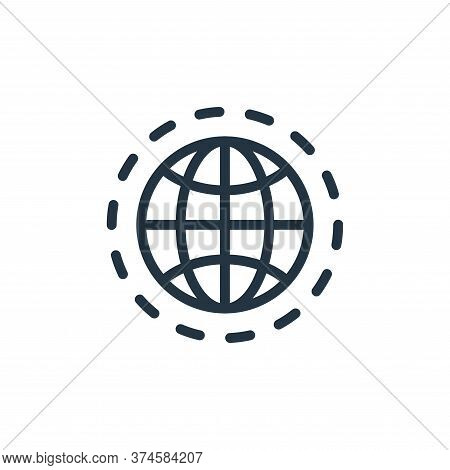 internet icon isolated on white background from work office server collection. internet icon trendy