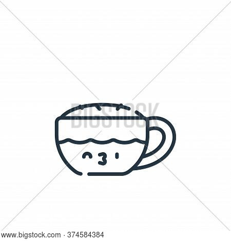 cappuccino icon isolated on white background from italy collection. cappuccino icon trendy and moder