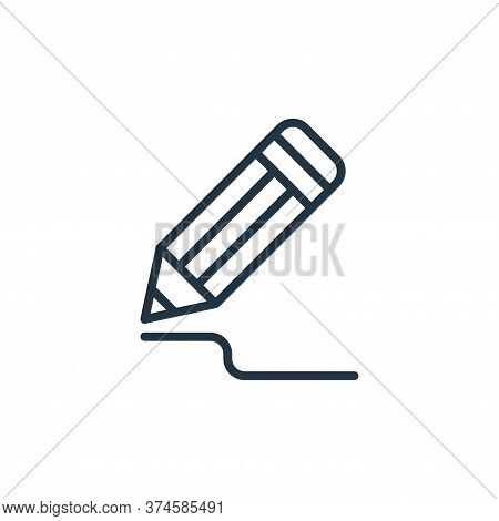 drawing icon isolated on white background from graphic design collection. drawing icon trendy and mo