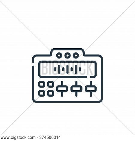 mixer icon isolated on white background from music collection. mixer icon trendy and modern mixer sy