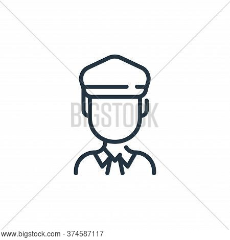 man icon isolated on white background from coronavirus collection. man icon trendy and modern man sy