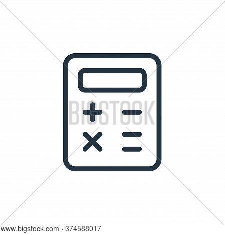 balance sheet icon isolated on white background from work office supply collection. balance sheet ic