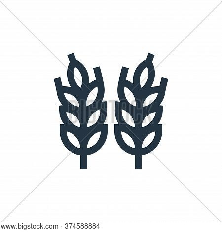 wheat icon isolated on white background from history collection. wheat icon trendy and modern wheat