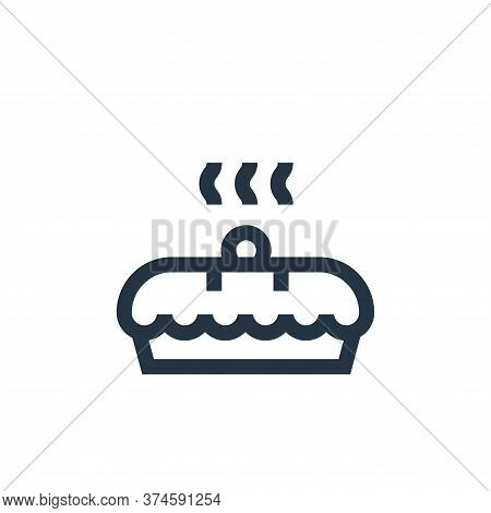 cake icon isolated on white background from hobbies collection. cake icon trendy and modern cake sym