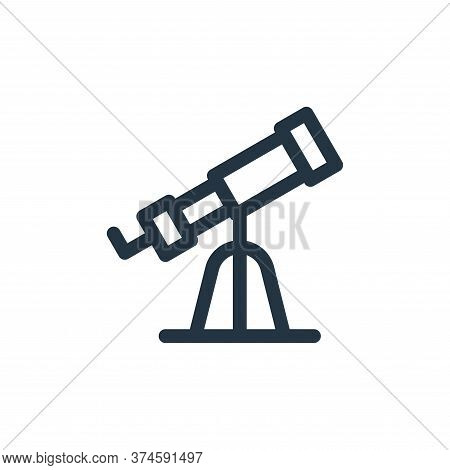 telescope icon isolated on white background from europe collection. telescope icon trendy and modern