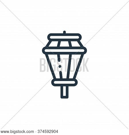street lights icon isolated on white background from holland collection. street lights icon trendy a