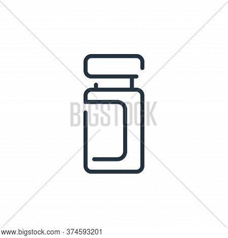 jar icon isolated on white background from virus transmission collection. jar icon trendy and modern