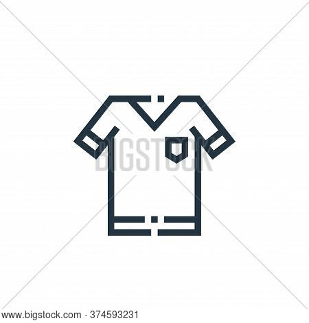 t shirt icon isolated on white background from clothes and apparel collection. t shirt icon trendy a