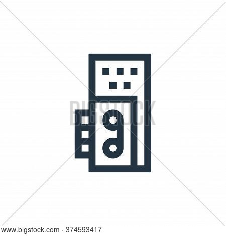 voice recorder icon isolated on white background from news collection. voice recorder icon trendy an
