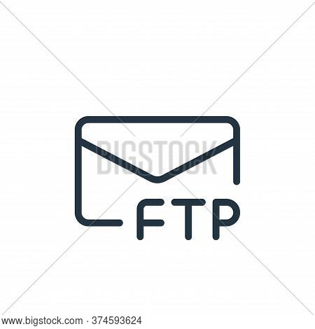 message icon isolated on white background from data transfer collection. message icon trendy and mod
