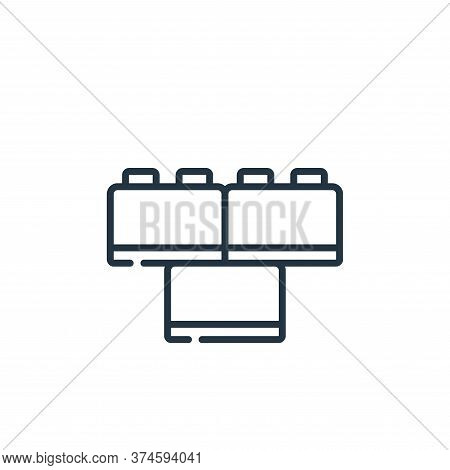 toy icon isolated on white background from plastic products collection. toy icon trendy and modern t