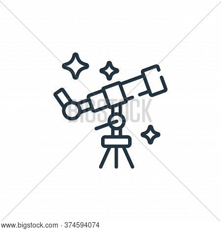 star gazing icon isolated on white background from free time collection. star gazing icon trendy and